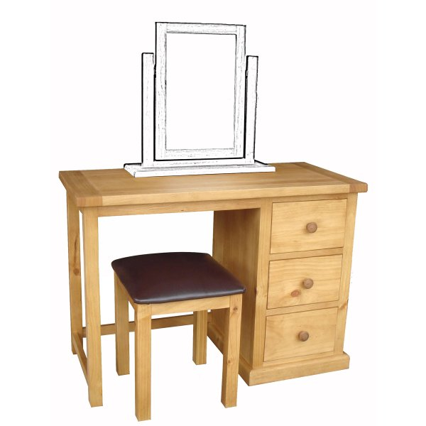 Pennine Dressing Table with Stool