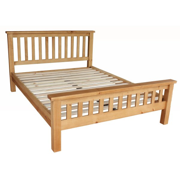Pennine Solid Pine 5\'0 Bed