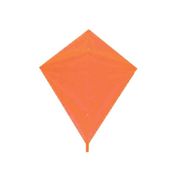 Classic Diamond Kite - Orange
