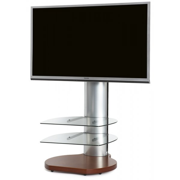 Origin II S4 Flat Panel Cantilever TV Stand In Cherry