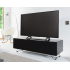 Alphason CRO2-1200CPT-BK Chromium Concept Black TV Stand with Speaker Mesh Front Main Image