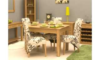 mobel oak dining table 4 seater table only