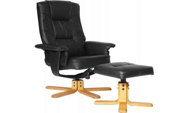 Alphason ARC7595 PU BR Drake Faux Leather Recliner with