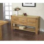 Rustic Grange Santana Blonde Oak Hall Table