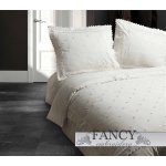 Fancy Embroidery RL 12 Crème Duvet Cover Set - Cream - Single 3ft