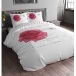 Sleep Time Stamp Rose Duvet Cover Set - Pink - Single 3ft
