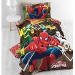 Disney Spiderman All Hero Duvet Cover Set For Kids - Multicoloured - Single 3ft