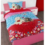 Sleep Time Puppy Love Duvet Cover Set For Kids - Multicoloured - Single 3ft