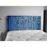 ValuFurniture Doll Velvet Fabric Headboard - Blue - Single 3ft