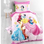 Disney Princess Dancing Duvet Cover Set For Kids - Multicoloured - Single 3ft