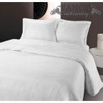 Fancy Embroidery Dallas Duvet Cover Set - White - Double 4ft6