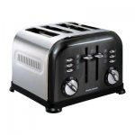 Morphy Richards 44733 Accents Black Toaster