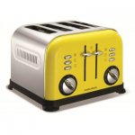 Morphy Richards 44797 Accents Yellow Toaster