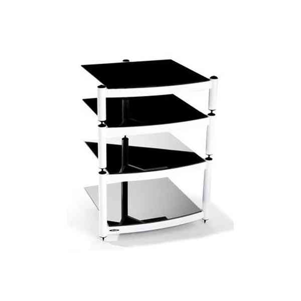 Equinox White 4 Shelf R.S HiFi Stand