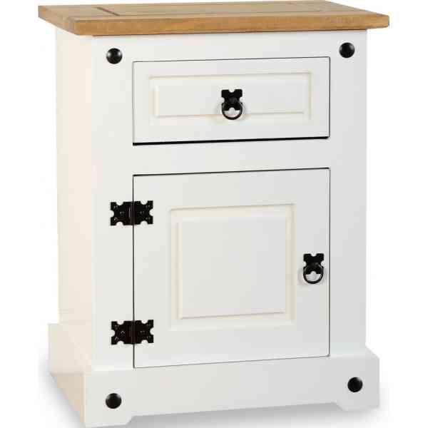 variant 1 drawer 1 door bedside cabinet br model