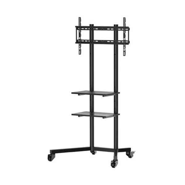 MMT TV02 Universal Trolley Stand with Shelves