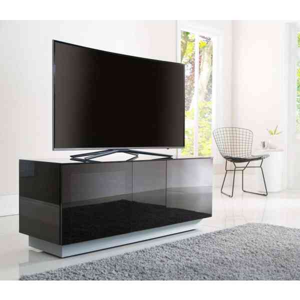 "Alphason Element EMT1250XL-BLK Black TV Stand for up to 60"" TVs"