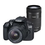 Canon EOS 1300D  18-55mm III  55-250mm IS STM