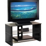 Peerless Manhattan 800 High Gloss Black TV Stand