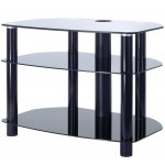 "B GRADE 32"" LCD TV Stand - all black"