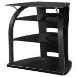 Jual Curve - Curved Black Ash Hi-Fi Stand