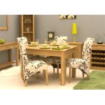 Mobel Oak Dining Table (4 Seater) - Table Only