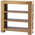 Chunky Oak Small Bookcase