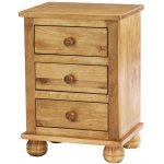 Ultimum Avon Solid Pine Bedside Cabinet