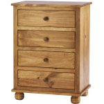 Ultimum Avon Solid Pine Four Drawer Chest