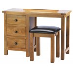 Auckland Dressing Table With Stool