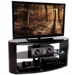 Peerless Portland 1100 Stylish Black TV Stand