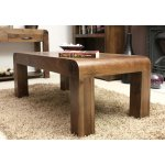 Shiro Walnut Open Coffee Table