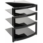Equinox Celebration Black 4 Shelf R.S HiFi Stand