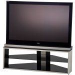 Alphason Tensai Brushed Steel TV Stand For Up To 40""
