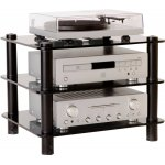 Optimum Prelude Slimline Three Shelf Hifi Stand