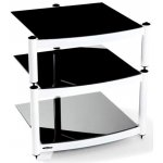 Equinox White 3 Shelf R.S HiFi Stand