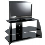 """Stil Stand High Gloss Black Corner TV Stand for up to 50"""""""