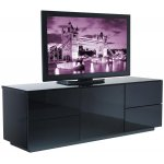 UK-CF London High Gloss Black Cabinet For TVs up to 60""