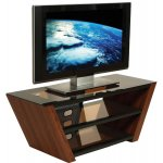 Peerless Walnut TV Stand for up to 55""