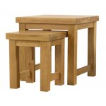 Mark Harris Natural Oak Nest Tables