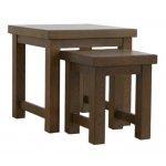 Mark Harris Barcelona Dark Oak Nest of Tables