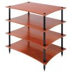 Quadraspire Q4EVO 4 Shelf Hi-Fi stand in Cherry
