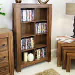 Baumhaus CWC17A Mayan Walnut CD/DVD Rack