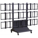 Premier Mounts 3 x 3 Video Trolley Stand