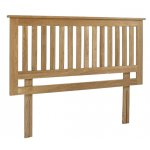 Lansdown Oak Headboard - Double