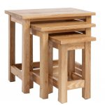Lansdown Oak Nest Of Tables