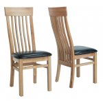 Sherwood Oak Dining Chair With Brown Seat