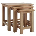 Sherwood Oak Nest of Tables