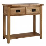 Westbury Reclaimed Oak Console Table