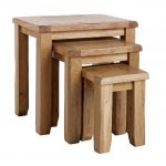 Westbury Reclaimed Oak Nest of Tables